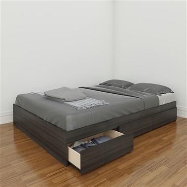 Atom Full Size 3-Drawer Storage Bed