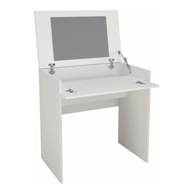 Blvd Vanity with Enclosed Storage and Mirror