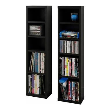 Sereni-T CD/DVD Towers (Set of 2)