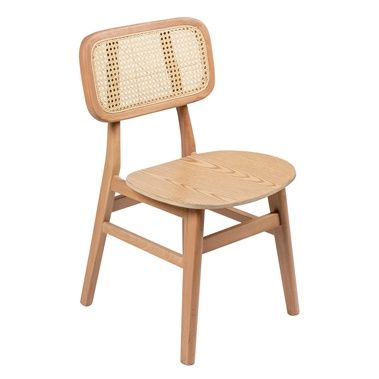 Noelle Dining Chair (Wood Seat) (Set of 2)