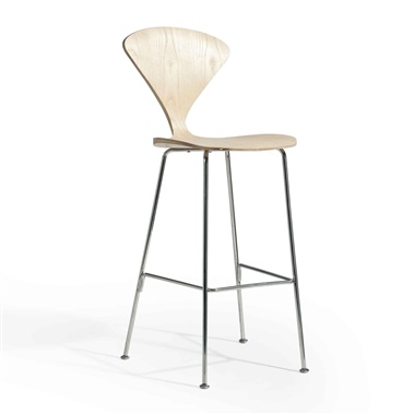 Norman Counter Stool with Steel Legs