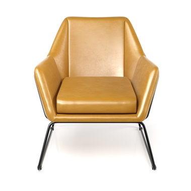 Norwood Leatherette Lounge Chair