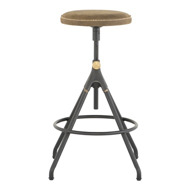 Akron Adjustable Stool