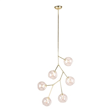 Atom 6-Light Pendant