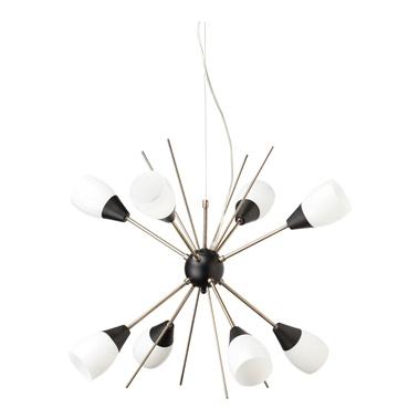 Claire Antique Brass Pendant Lamp