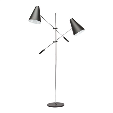 Tivat Floor Lamp with 2 Lights