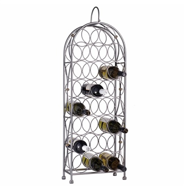 Bordeaux Chateau 23-Bottle Floor Rack
