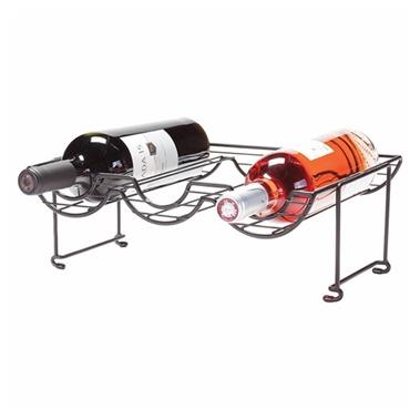 Halfpipe Stackable Wine Rack