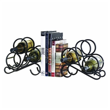 Scroll Rack Bookends (Set of 2)