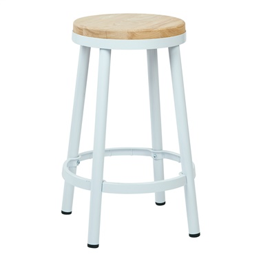 Bristow Metal Backless Bar Stool