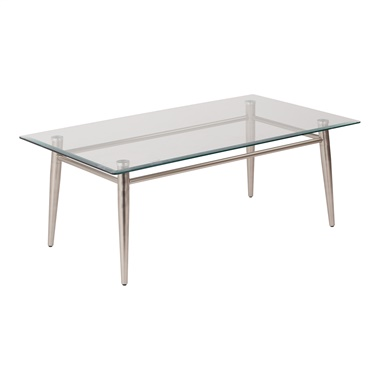 Brooklyn Glass Rectangular Coffee Table