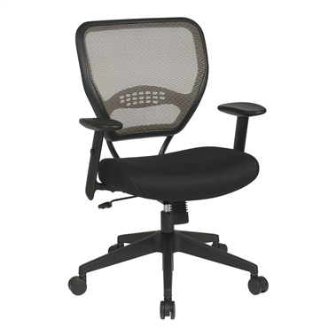 Deluxe Latte AirGrid Back Manager's Chair