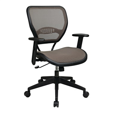 Deluxe Latte AirGrid Seat and Back Task Chair