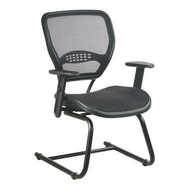 Deluxe Visitor's Chair with AirGrid Seat and Back