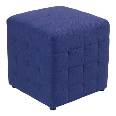 "Detour 15"" Fabric Cube Ottoman"