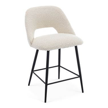 Oliver Boucle Counter Stool (Set of 2)