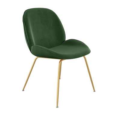 Petrichor Velvet Dining Chair