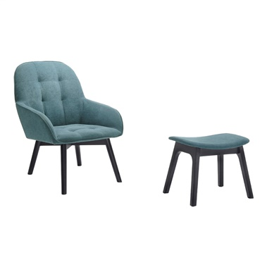 Rachel Accent Chair and Ottoman