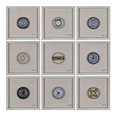 Buttons Wall Decor