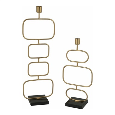 Dynah Candle Holder (Set of 2)