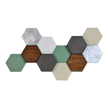 Hexa Pastel Wall Decor