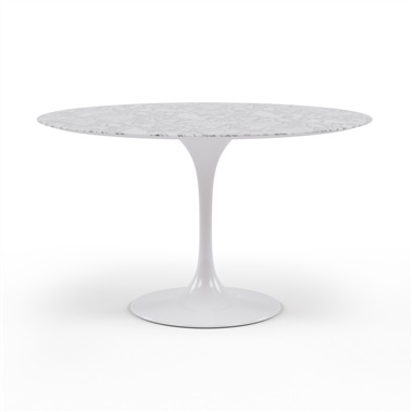 Saarinen Tulip Round Marble Dining Table