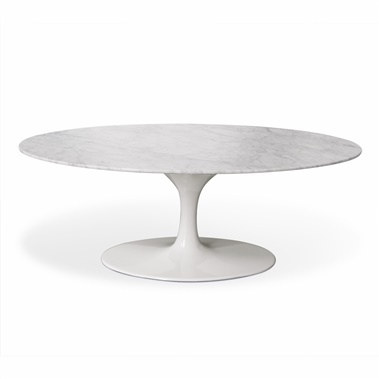 Saarinen Tulip Oval Marble Coffee Table