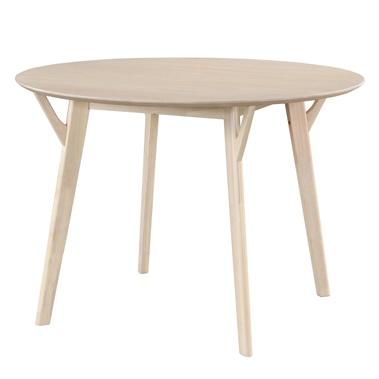 Scandi Round Sunwash Dining Table