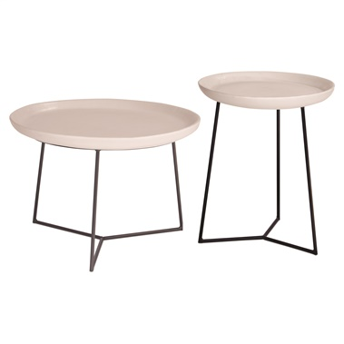 Link Accent Table (Set of 2)