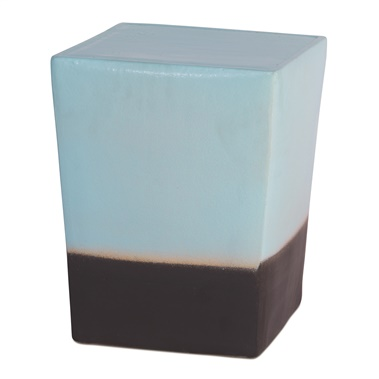 Low Luster Two Glaze Square Cube