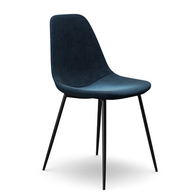 Sigfred Velvet Side Chair
