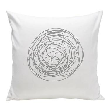 Spun Organic Pillow