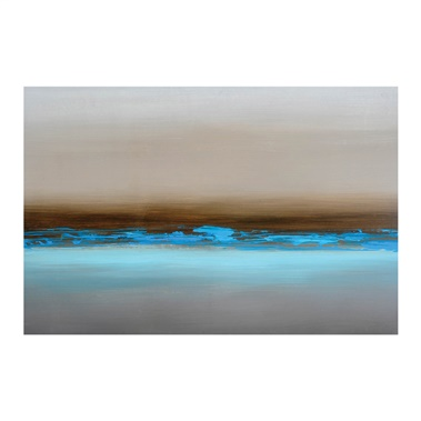 Blue Mist Canvas Art
