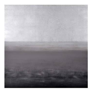 White Storm Canvas Art