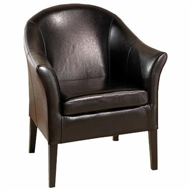 Logan Leather Club Chair