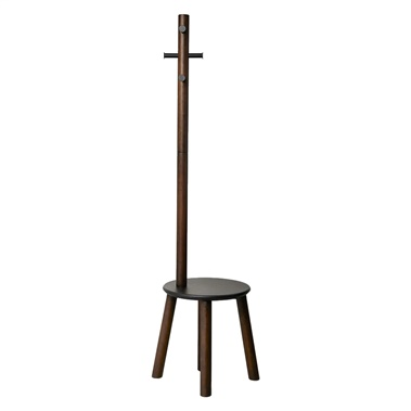 Pillar Stool and Coat Rack