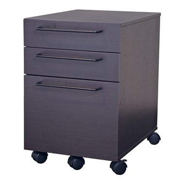 200 Series 3-Drawer Mobile File Cabinet