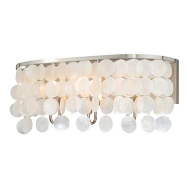 Elsa Capiz Shell 3-Light Vanity