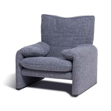 Vico Magistretti Maralunga Arm Chair