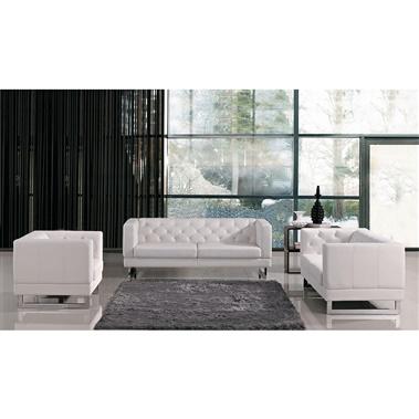 Divani Casa Windsor - Modern Tufted Eco-Leather Sofa Set