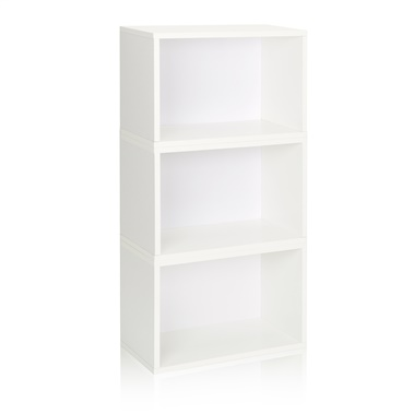 Way Basics Eco Friendly Stackable Hillcrest Modular Bookcase and Storage Shelf