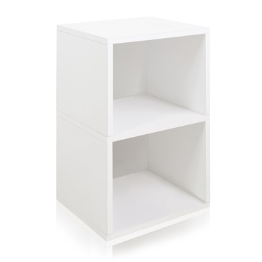 Way Basics Eco Friendly Under Desk Shelf Bookcase
