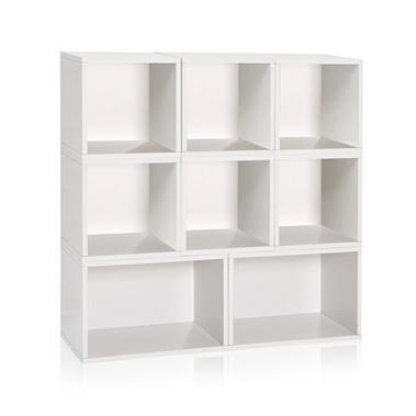 Way Basics Milan Storage Blox Eco Friendly Modular Shelving