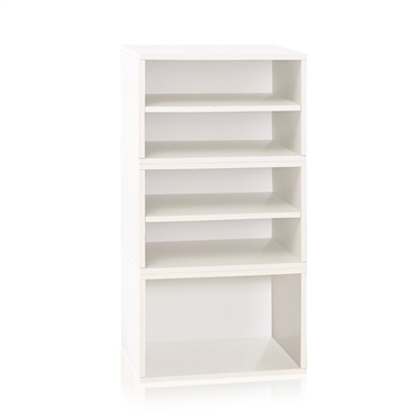 Way Basics Pisa Storage Blox Eco Friendly Modular Shelving