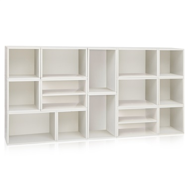Way Basics Rome Storage Blox Eco Friendly Modular Shelving