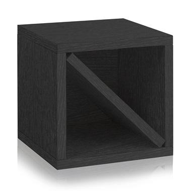 Way Basics Stackable Blox Wine Cube Storage 6 Bottles