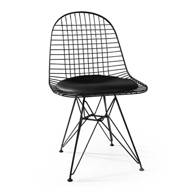 Wire Chair with Cushion