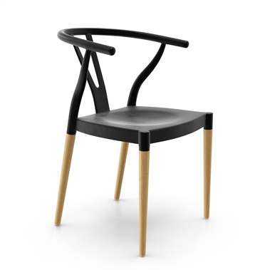 Wishbone Style Dining Chair  sc 1 st  Inmod.com : metal dining chairs - amorenlinea.org