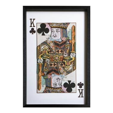 King of Clubs Wall Art