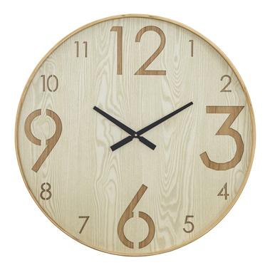 Wood Wall Clock II